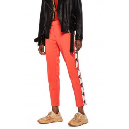 Maison Scotch Stretch Tailored Coral Woman Pant