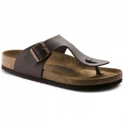 BIRKENSTOCK GIZEH BROWN SANDALS MAN