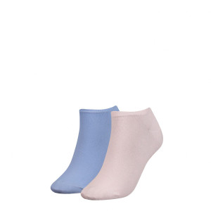 CALCETINES TOMMY HIFIGER SNEAKER 2P LILAC HINT