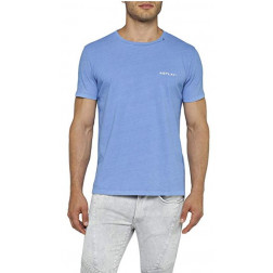 Camiseta Replay G. Dyed Open End Ha Blue Viole Hombre