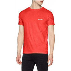 Camiseta Replay G. Dyed Open End Ha Coral Hombre