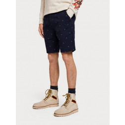 Bermuda Scotch & Soda Relaxed Fit Hombre