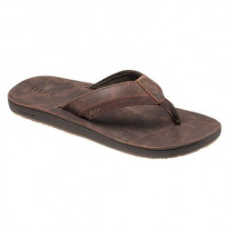CHANCLAS REEF LEATHER CONTOURED HOMBRE
