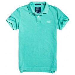 POLO SUPERDRY VINTAGE DESTROY AWESOME MINT HOMBRE