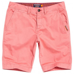 BERMUDAS SUPERDRY INTERNATIONAL POMEGRANATE HOMBRE