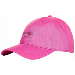 GORRA SUPERDRY OL SOFT TOUCH PINK MUJER
