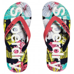CHANCLAS SUPERDRY AOP POP HIBISCUS MUJER