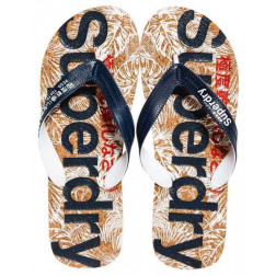 Chancla Superdry Printed Cork Hombre