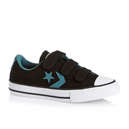ZAPATILLAS CONVERSE STAR PLAYER ALL STAR CANVAS NEGRAS NIÑO/NIÑA