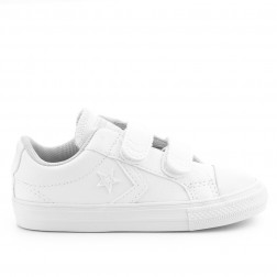 ZAPATILLAS CONVERSE STAR PLAYER ALL STAR BLANCAS PIEL JUNIOR