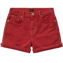 BERMUDA PEPE JEANS BETTIES MARS RED