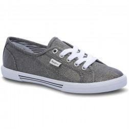ZAPATILLAS PEPE JEANS ABERLADY FRESH GRIS GRANITO MUJER
