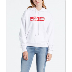 Sudadera Levis Graphic Unbasic Lazy White